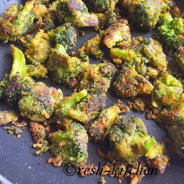 Broccoli Fry Recipe Reshkitchen